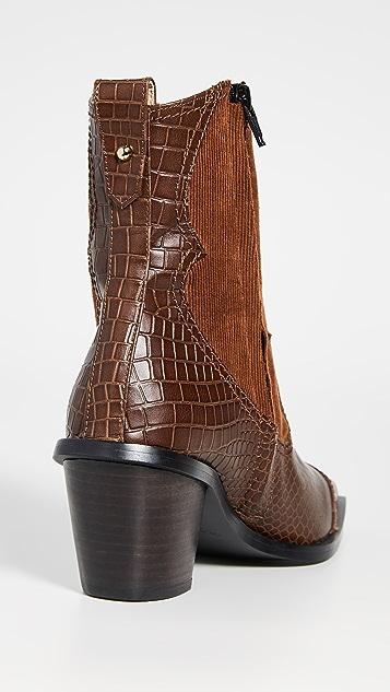 Reike Nen 西部风格靴子