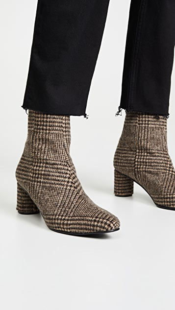 Reike Nen Wave Oval Ankle Boots