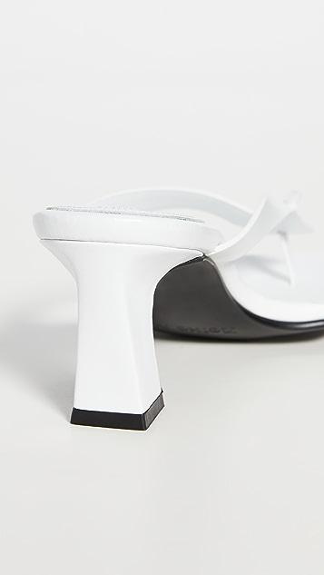 Reike Nen 高跟夹趾凉鞋