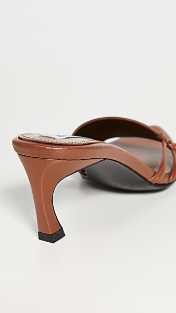 Reike Nen 侧边结饰穆勒鞋