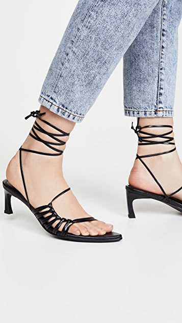 Reike Nen Knot Pointed Sandals