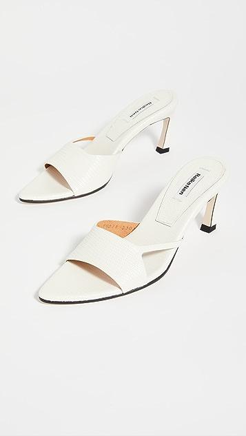 Reike Nen 镂空箭头凉鞋