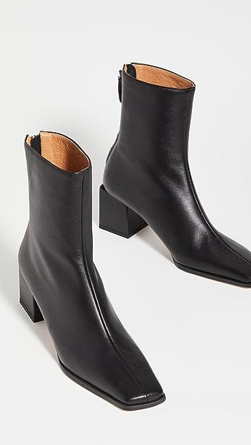 Reike Nen Cube Heel Basic Boots