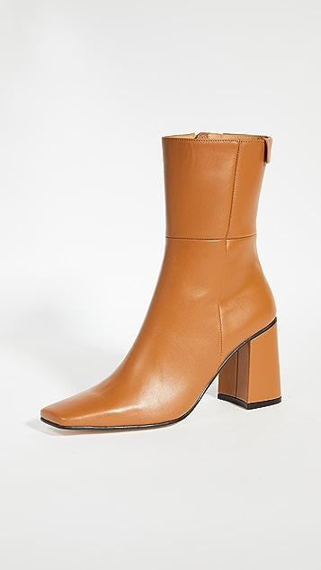 Reike Nen 尖头方形基本款靴子