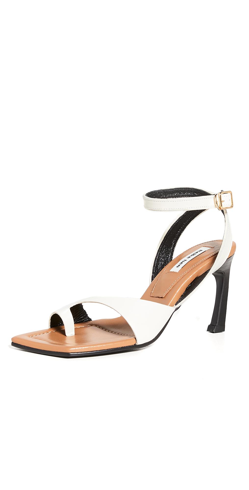 Reike Nen Curved Flip Flops Ankle Strap Sandals