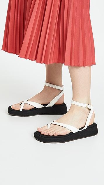 Reike Nen X 踝带厚底凉鞋