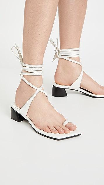 Reike Nen Toe Ring Sandals