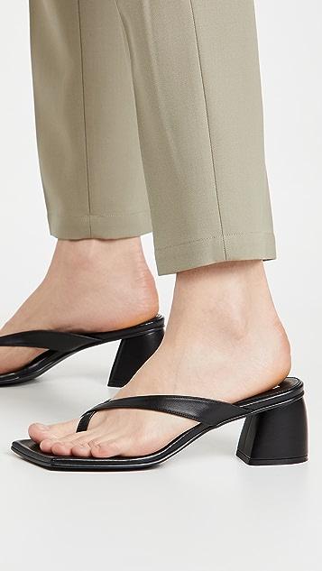 Reike Nen X 固定带夹趾高跟凉鞋