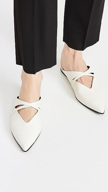 Reike Nen X 固定带平底穆勒鞋