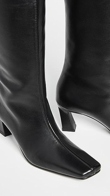 Reike Nen 正面滚边长筒靴