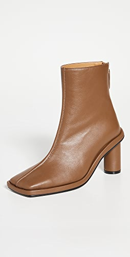 Reike Nen - Front Piping Ankle Boots