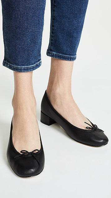 Repetto Туфли на каблуках Camille Ballerina