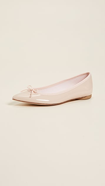 Repetto Brigitte Pointed Toe Ballet Flats ...