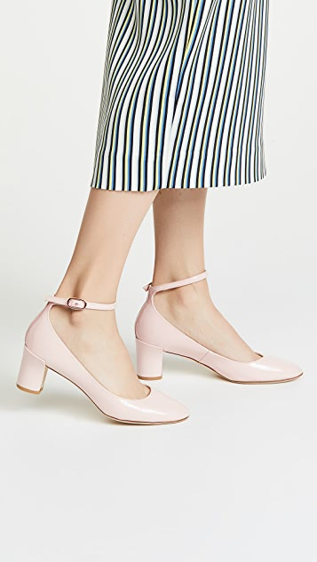 Repetto Electra Block Heel Pumps