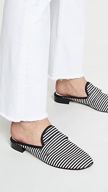 Repetto Loly Striped Mules