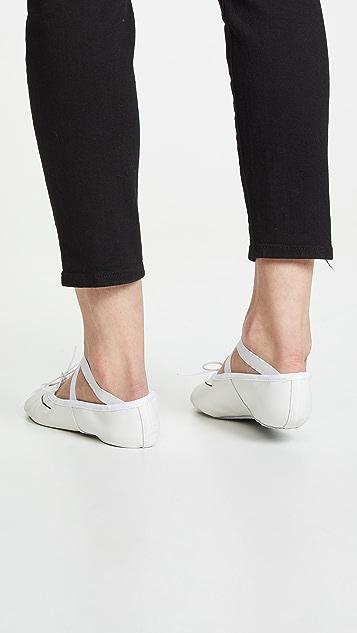 Repetto x Sia Demi-Pointe Cuir Ballets