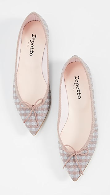 Repetto Brigitte Point Toe Flats