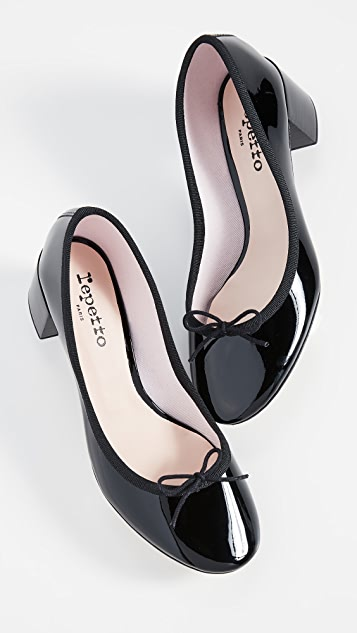Repetto Farah Block Heel Pumps