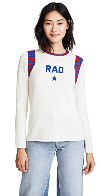 Replica Los Angeles Rad Intarsia Long Sleeve w/ Stripe