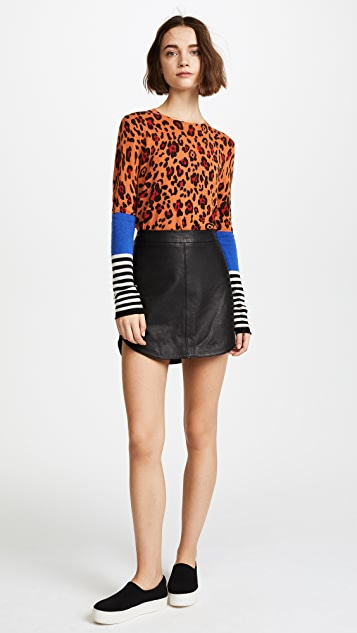 Replica Los Angeles Leopard Sweater