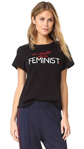 Retouched Feminist Tee