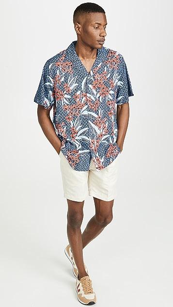 Reyn Spooner Frangipani Fun Camp Shirt