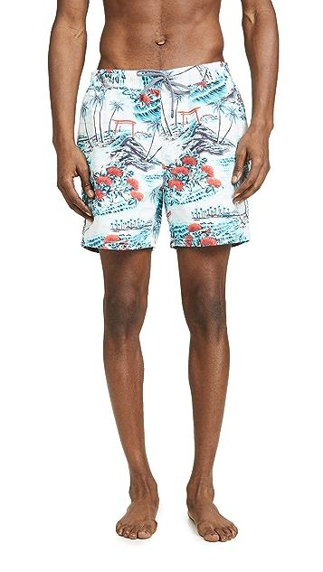 Reyn Spooner Summer Pareau Swim Trunks
