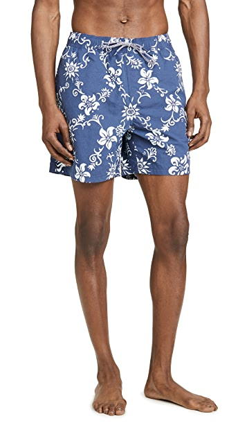 Reyn Spooner Summer Pareau Swim Trunks