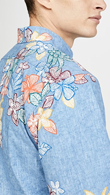 Reyn Spooner South Pacific Garklands Shirt