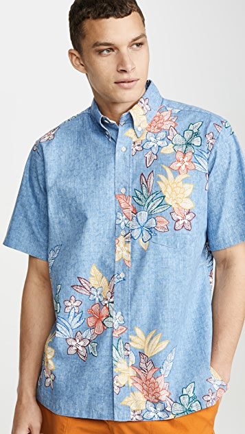 Reyn Spooner South Pacific Garklands Shirt