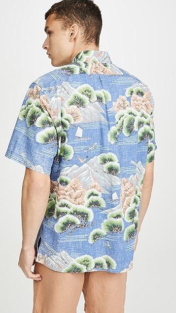Reyn Spooner Kuromatsu Forest Shirt