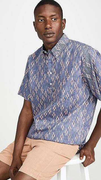 Reyn Spooner Naha Kasuri Pullover Shirt