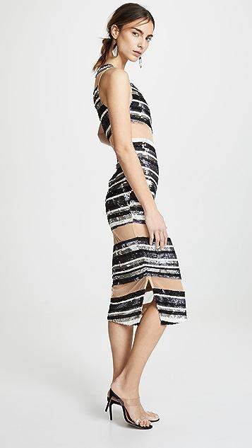 Retrofete Alexandra Sequin Dress