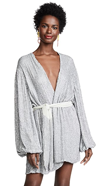 Retrofete Gabrielle Sequin Robe