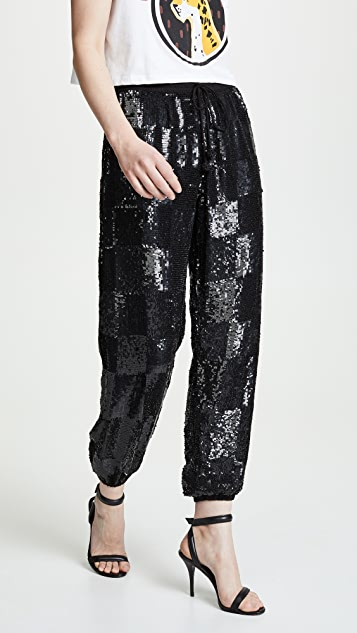 Retrofete Расшитые блестками брюки Stacia