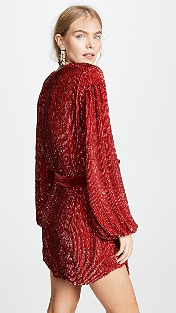 Retrofete Gabrielle Sequined Dress