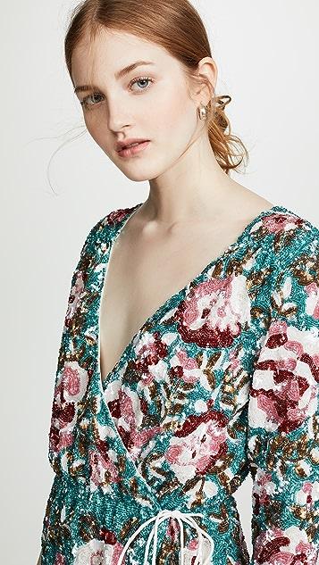 Retrofete Pearl Sequin Dress