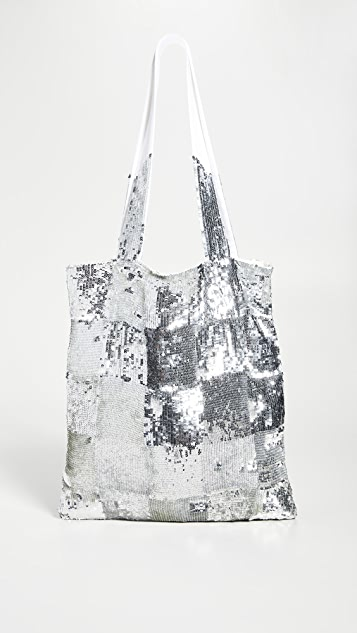 Sequin Tote Bag by Retrofete