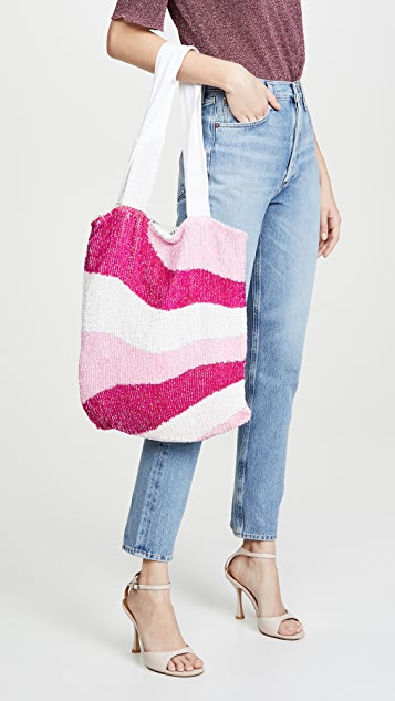 Retrofete Sequin Tote Bag