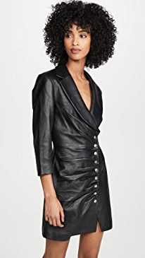 Willa Leather Dress