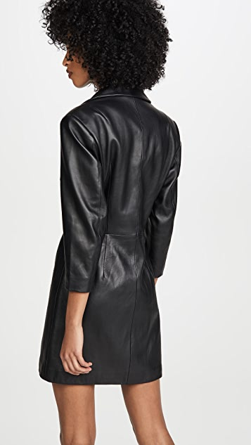 Retrofete Willa Leather Dress