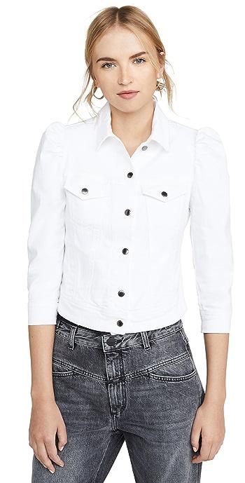 Retrofete Ada Denim Jacket - White