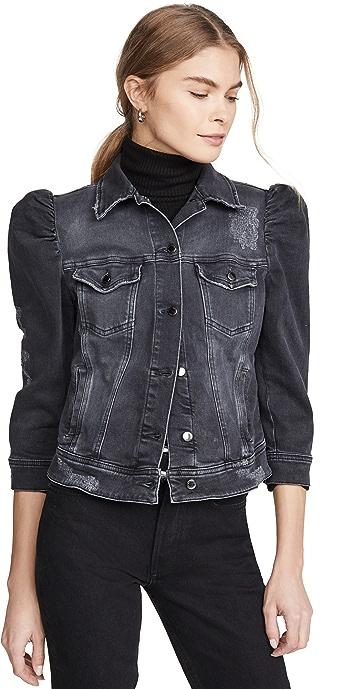 Retrofete Ada Denim Jacket - Faded Black