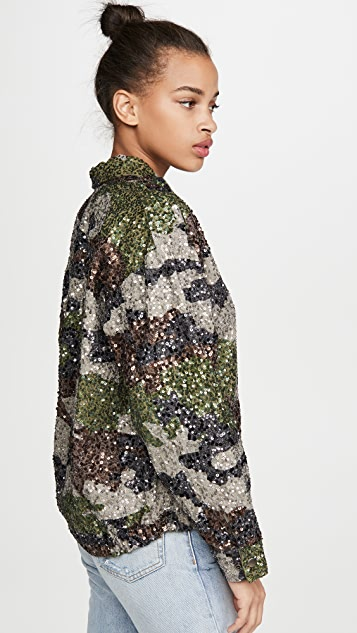Retrofete Idan Sequin Jacket