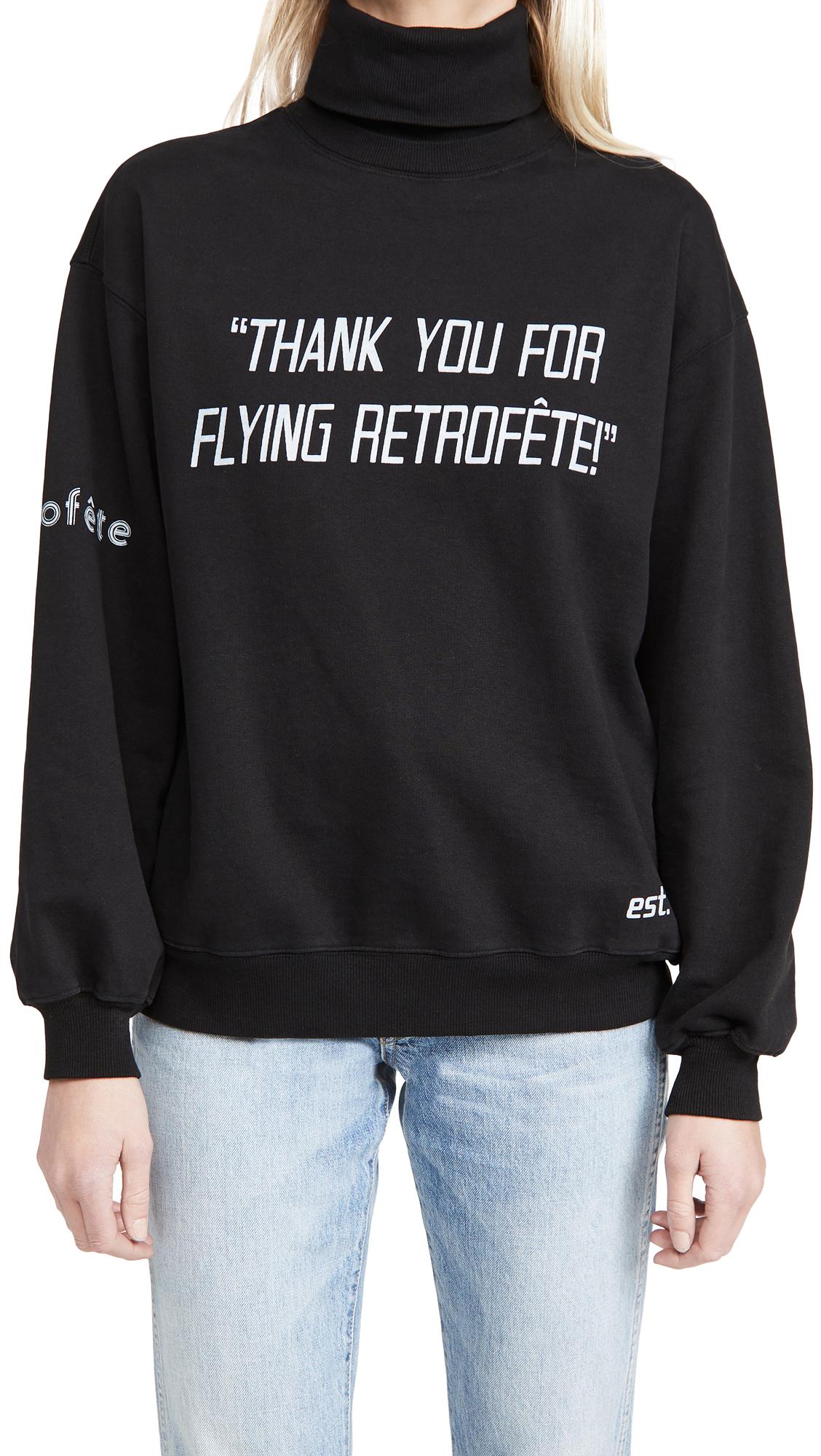 Retrofete Flying Over Sweatshirt