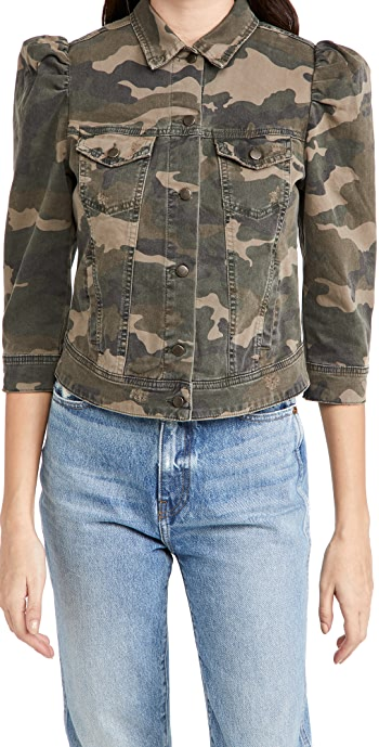 Retrofete Ada Denim Jacket - Camouflage