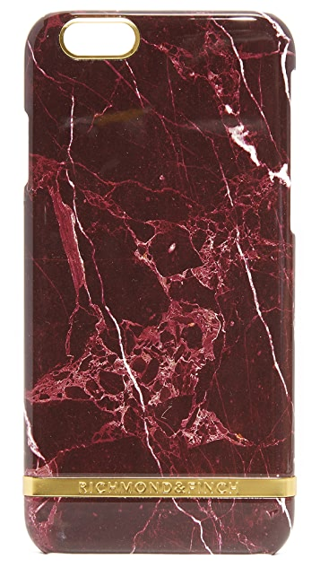 Richmond & Finch Red Marble iPhone 6 / 6s Case