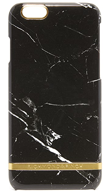 Richmond & Finch Black Marble iPhone 6 / 6s Case