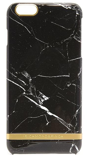 Richmond & Finch Black Marble iPhone 6 Plus / 6s Plus / 7 Plus / 8 Plus Case