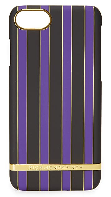 Richmond & Finch Acai Stripes iPhone 7 Case